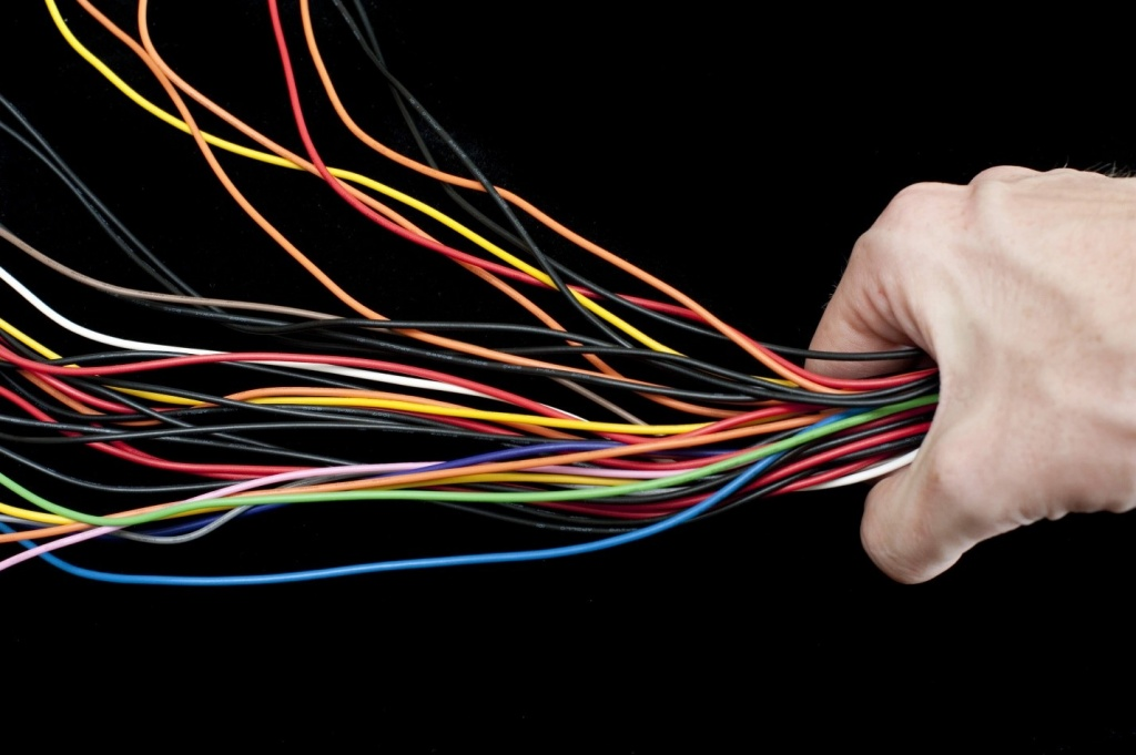 Электрические провода картинка